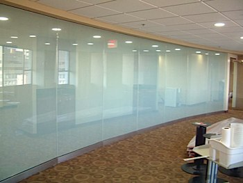 Office Frosted Windows